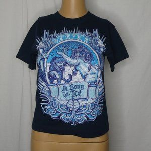 Teefury A Song of Ice Game of Thrones T Shirt Tee